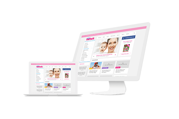 UI/UX design for Mother & Baby Magazine